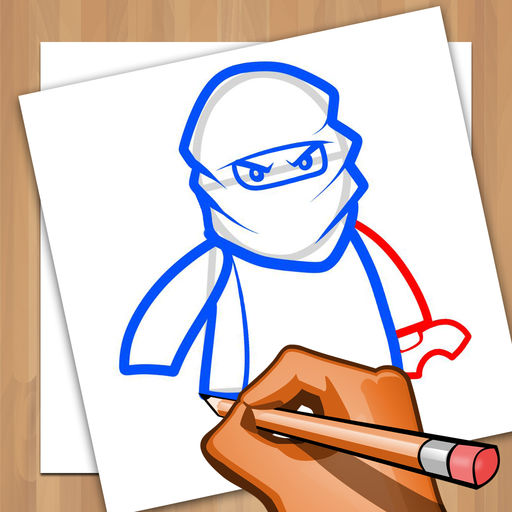 512x512 How To Draw And Coloring For Lego Ninjago