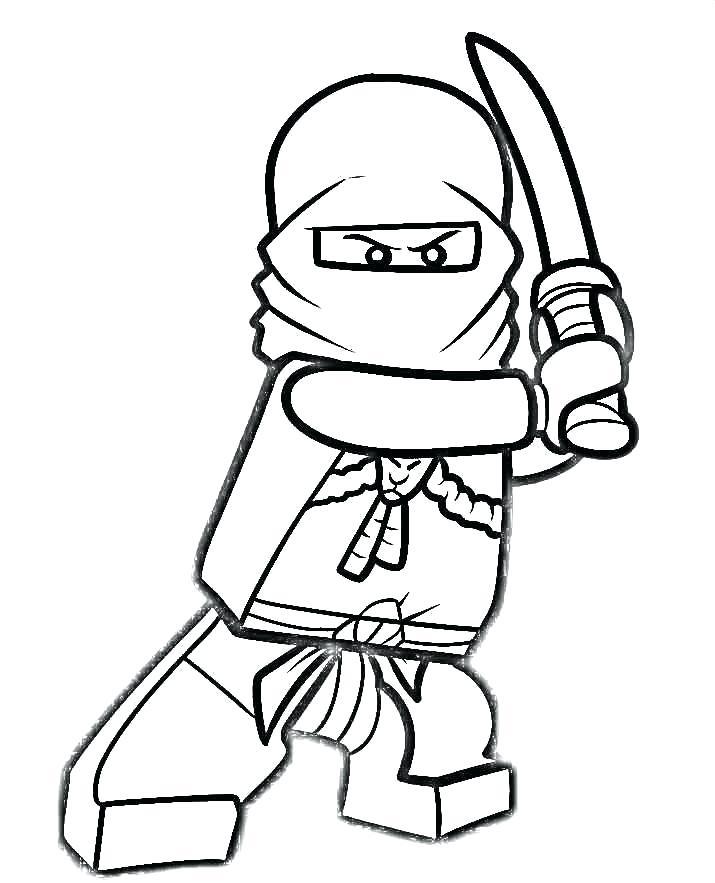 715x883 Kai Ninjago Coloring Pages Drawing At Free For Personal Use Kai