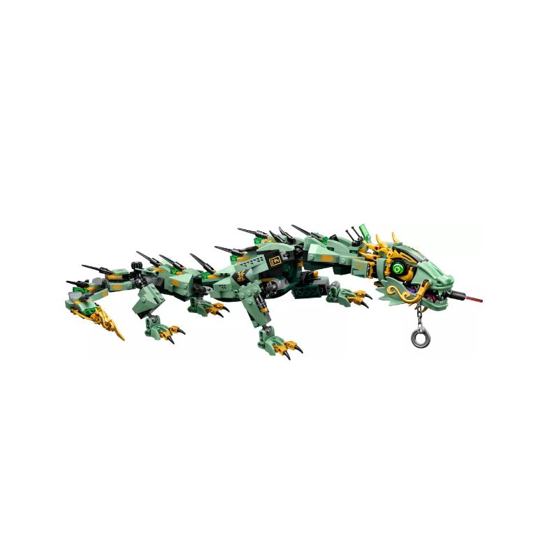 800x800 Ninjago Movie Green Ninja Mech Dragon Lloyd Garmadon Compatible