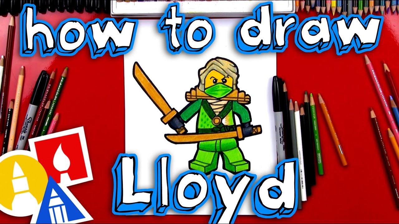 1280x720 How To Draw Lloyd From Ninjago