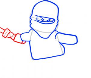 302x259 how to draw ninjago, ninjago, step