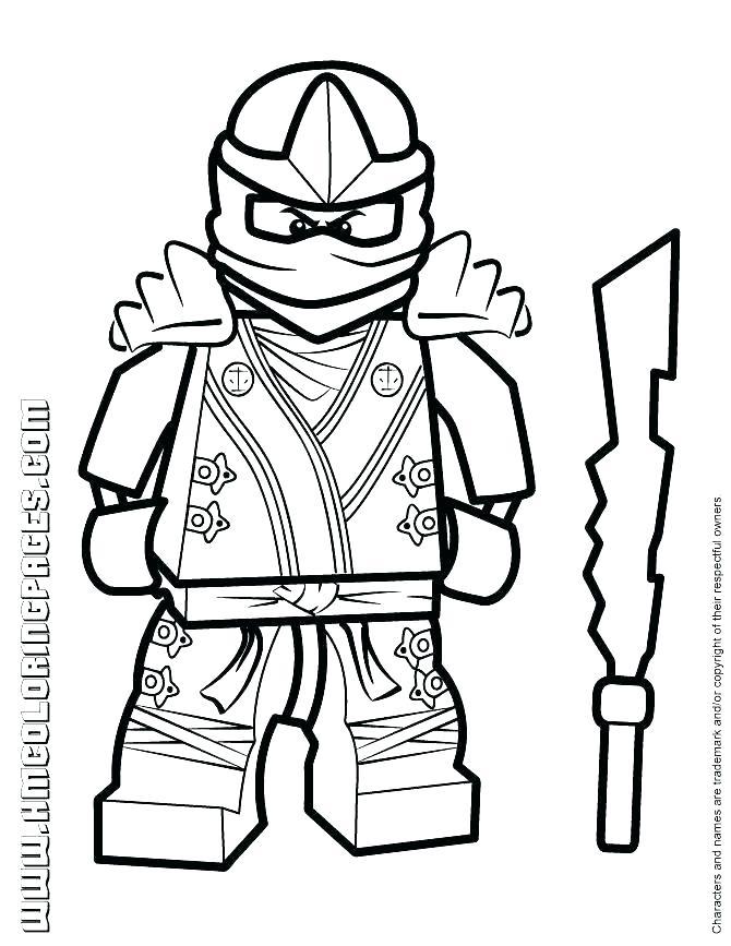 Ninjago Jay Drawing