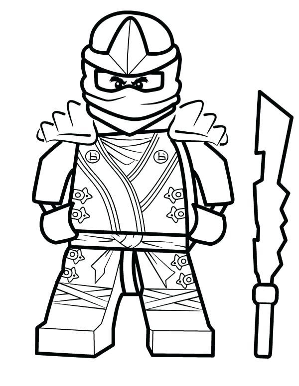 Ninjago Kai Drawing | Free download on ClipArtMag