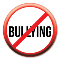200x200 no bullying oval magnet magnet america