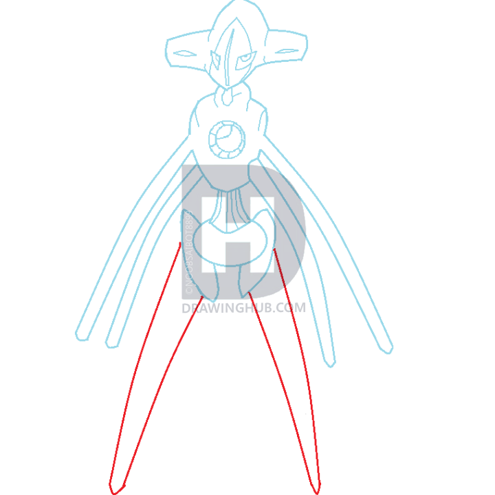 720x720 How To Draw Deoxys