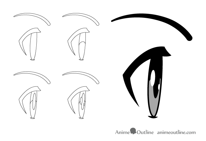 675x465 How To Draw Anime Manga Eyes