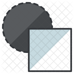 256x256 Normal Drawing Mode Icon Of Colored Outline Style