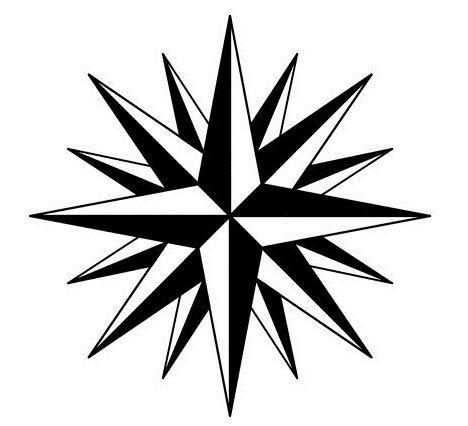 468x426 russian star tattoo star tattoos, tattoos, russian mafia tattoos