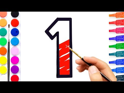 480x360 learn number coloring and drawing learn colors for kids