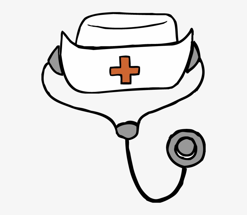 820x714 Free Download Nurse Hat Drawing At Getdrawings