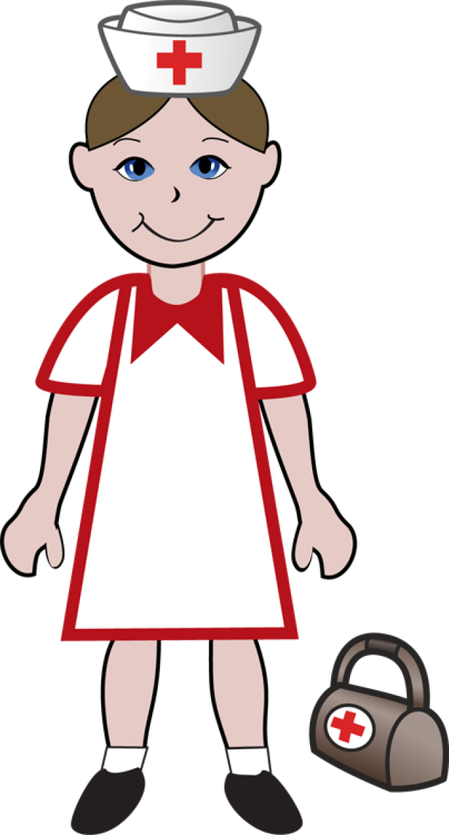 640x1188 Nurse Cap Transparent Png Clipart Free Download
