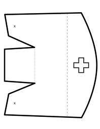 197x255 How To Make A Nurses Cap Costume Out Of Paper