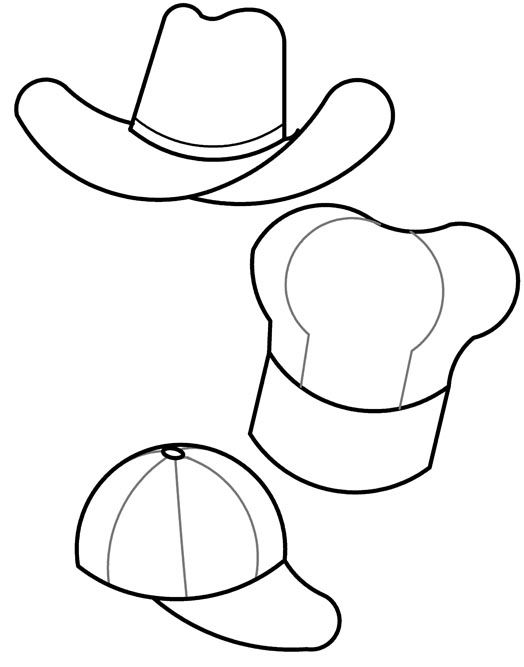 524x667 Nurse Hat Template Fedora Hat Images Magic Hat Stars P Pattern