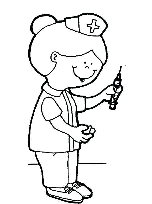 579x777 nurse coloring pages nurse coloring pages printable nurse ring