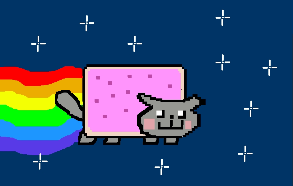 942x599 Nyan Cat Images My Drawing Of Nyan Cat!!!!! Hd Wallpaper