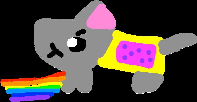 674x349 Nyan Cat V S Blue Tac Nyan Tynker