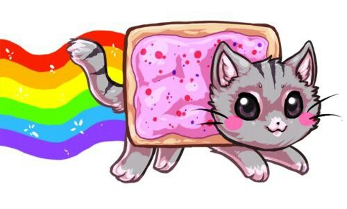 500x301 Nyan Cat Fan Art In Nyan Cat, Cats