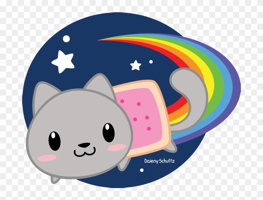 880x670 Chibi Nyan Cat