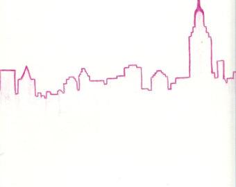 340x270 Skyline Drawing Image Group