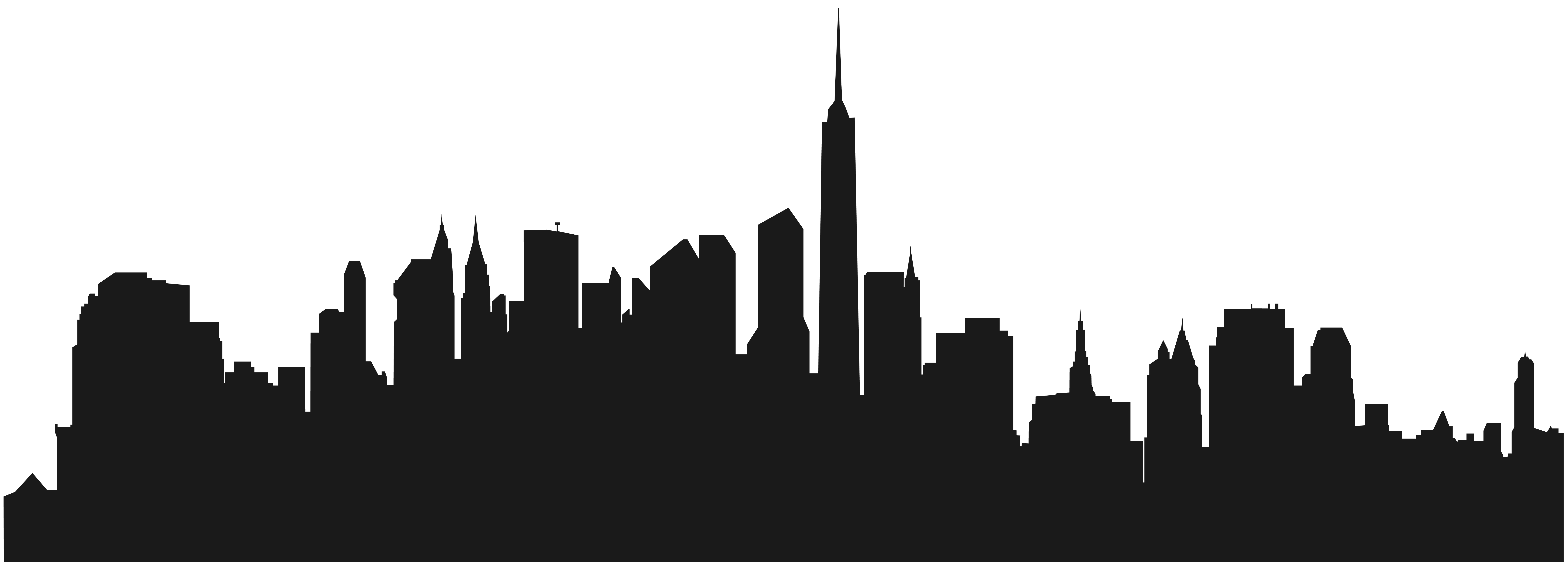 8000x2870 Collection Of Free Skyline Drawing Minimalist Download On Ui Ex