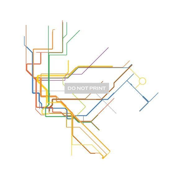 570x570 Massimo Vignelli's New York City Subway Map