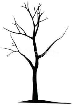 236x337 how to draw dead trees dead oak tree drawing how to draw a oak