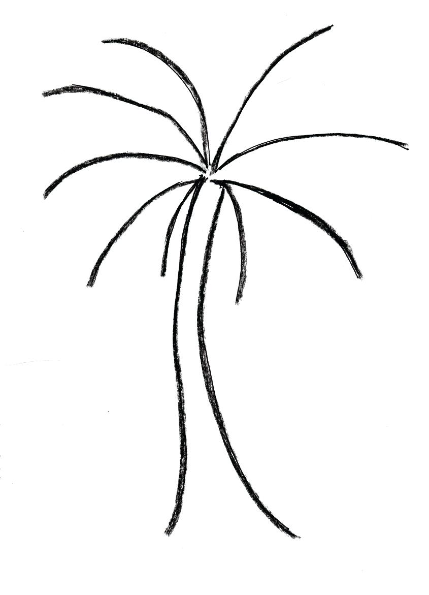 845x1171 Easy Tree Drawing Easy Tree Drawing How To Draw An Oak Tree How