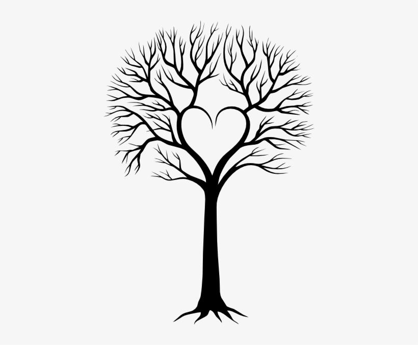 820x677 Trees Drawing Illusion