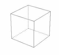 250x235 Scientico Object Drawing Cube