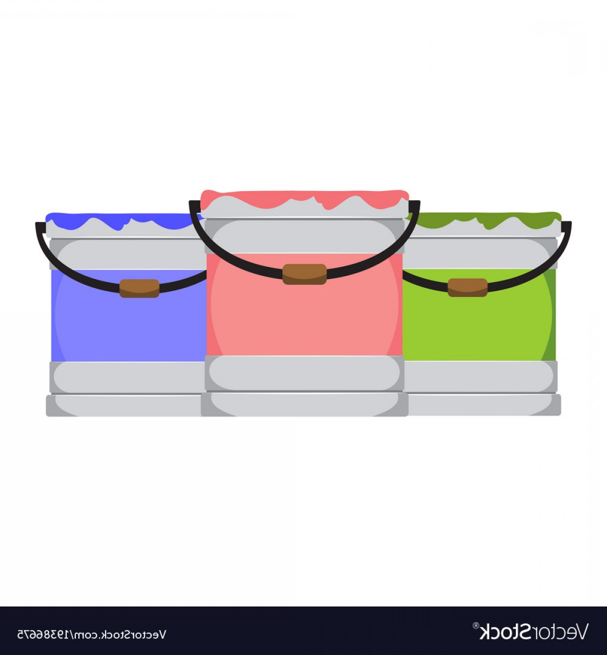 1200x1296 Simple Paint Bucket Object Drawing Graphic Vector Soidergi