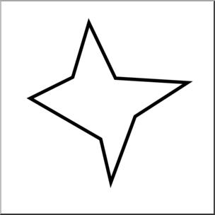 304x304 clip art irregular polygons octagon bampw unlabeled i