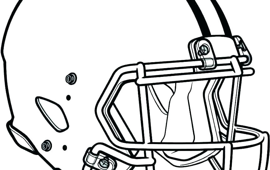 863x544 Football Coloring Get Ready For The Football Season With Football