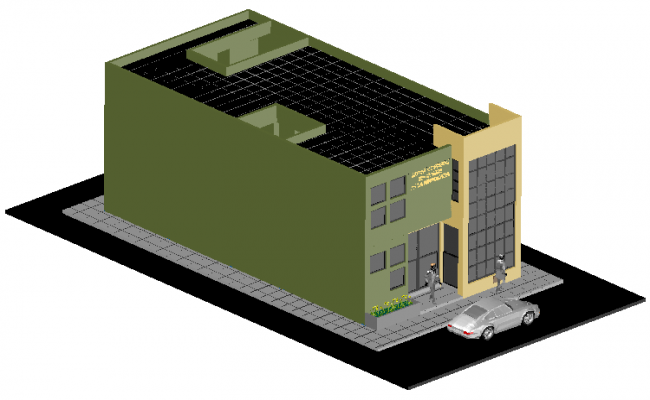 Office Building Drawing