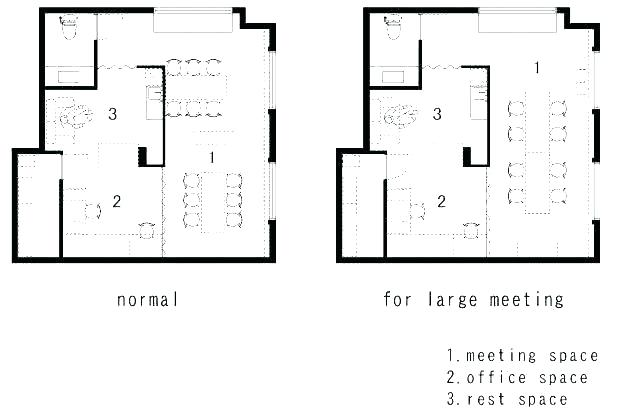 618x411 office space design layout interior design layout corporate
