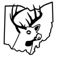 225x226 Ohio State Deer Decal