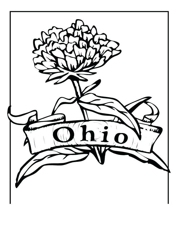 680x880 Ohio State Coloring