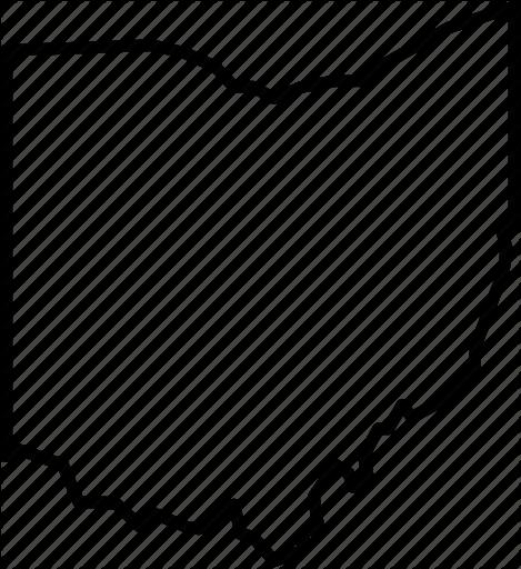 469x512 America, Cincinnati, Cleveland, Columbus, Ohio, Republic, State Icon