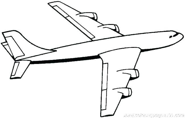 650x417 Coloring Airplane Vintage Airplane Coloring Pages Printable