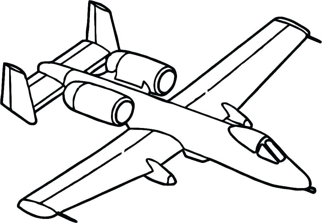 1024x709 Coloring Pages Aircraft Coloring Pages