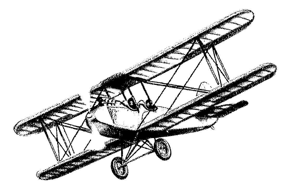 1100x736 Vintage Biplane Abner Aircraft, Plane, Vintage