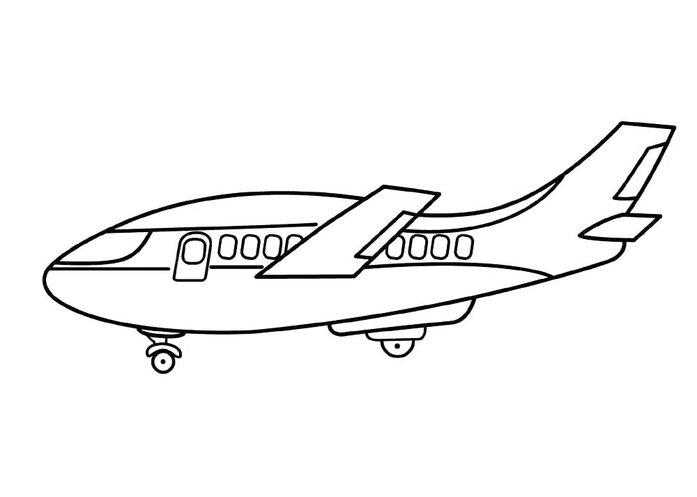 1000x713 Airplane Color