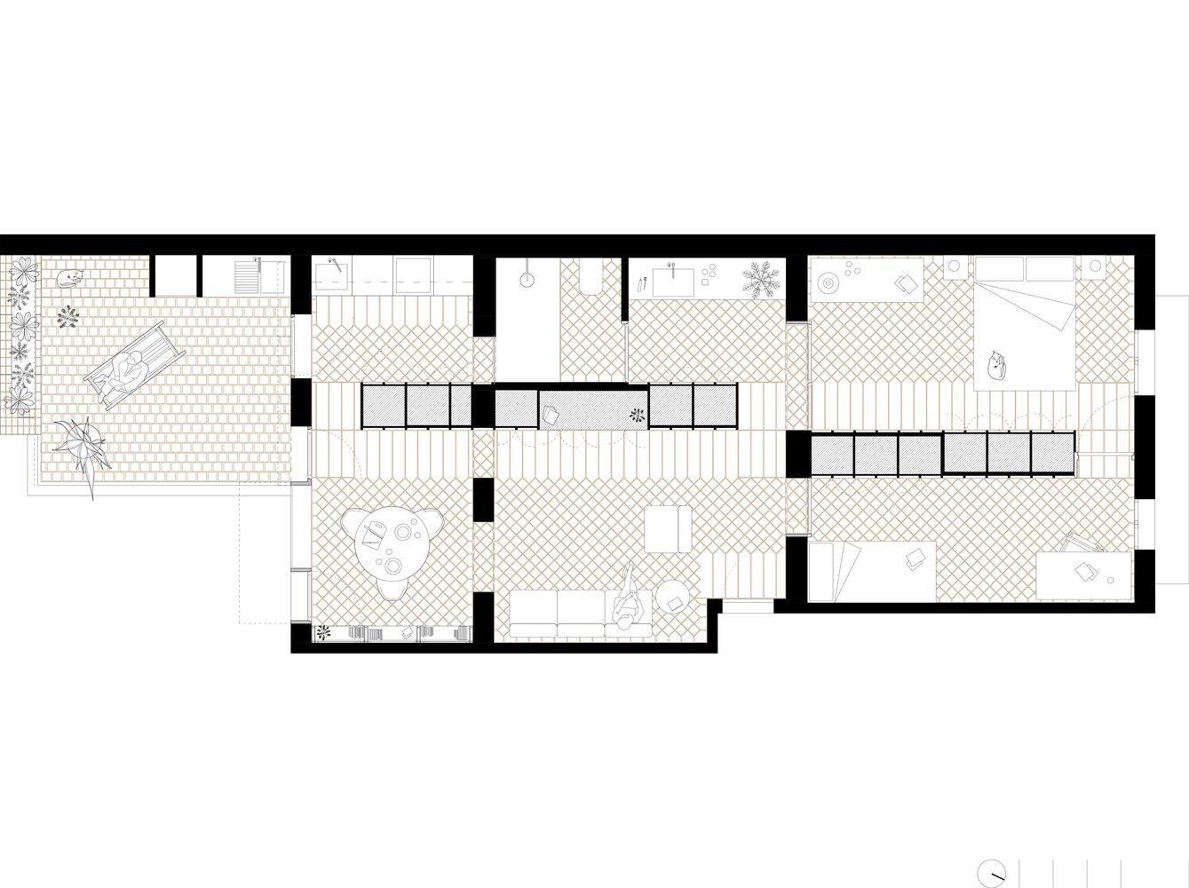 1339x1000 Gallery Of Huguet Apartment Ted'a Arquitectes