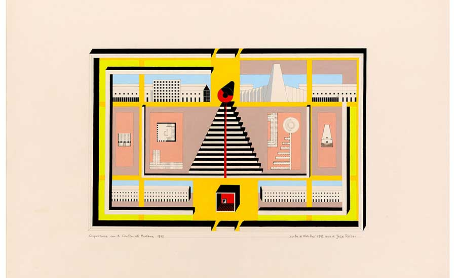 900x550 The Story Behind A Drawing Jesse Reiser On Aldo Rossi