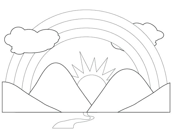 600x459 Coloring Pages To Print For Toddlers Disney Halloween Scenery