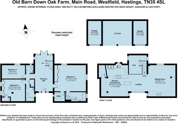 600x419 Bedroom Detached House For Sale In Westfield, East Sussex