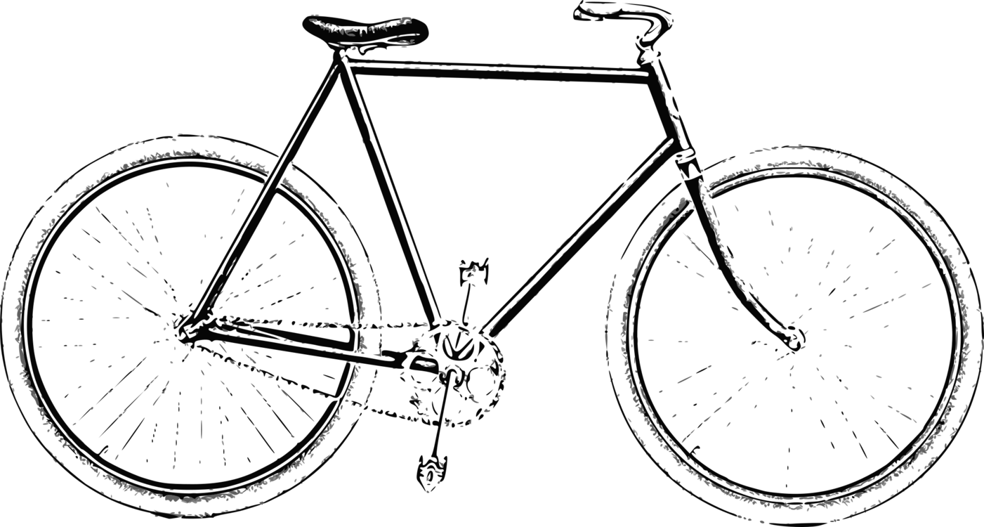 1401x750 Bicycle Drawing Retro Style Computer Icons Cycling Cc0