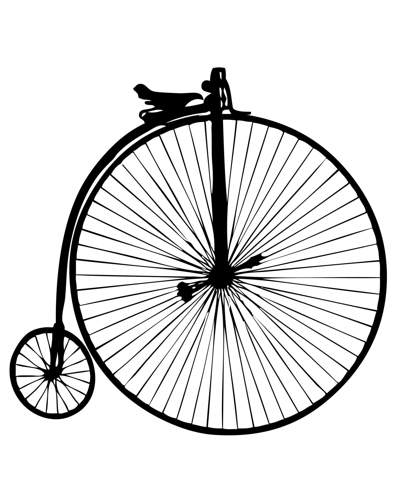 1536x1920 Pennyampnbspfarthing, Vintage, Bicycle, Bike, Old