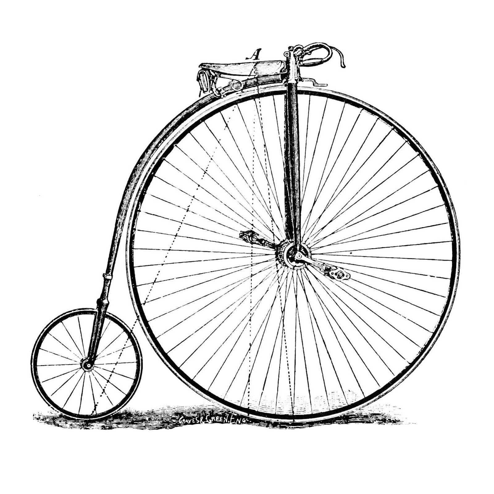 1600x1600 Creativety Bike Drawing, Bicycle Drawing