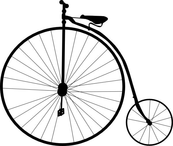 600x508 Old School Bicycle