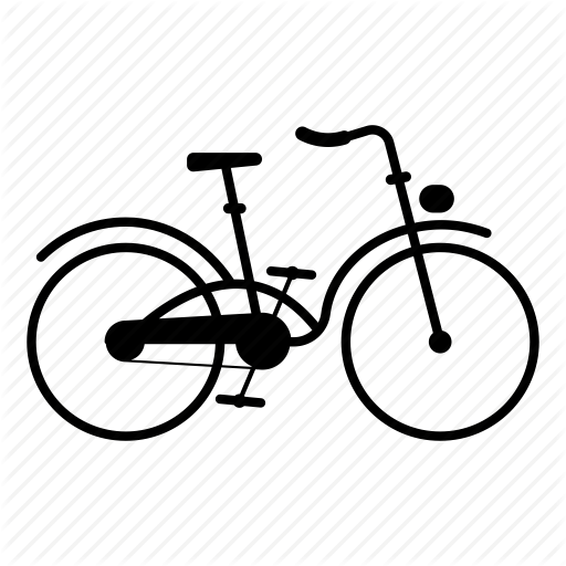 512x512 Bicycle, Yellow, Font, Transparent Png Image Clipart Free Download